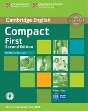 Compact First 2ed: Workbook with answers with audio
