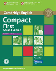 Compact First 2ed: Workbook without answers with audio