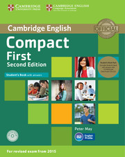 Compact First 2ed: Student's Book Pack (Student's Book with answers with CD-ROM and Class Audio CDs(2))