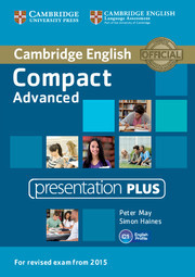 Compact Advanced: Presentation Plus DVD-ROM