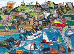 What Makes? Auckland Amazing: 500 piece puzzle