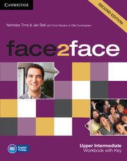 face2face Upper Intermediate Workbook with Key 2nd Edition