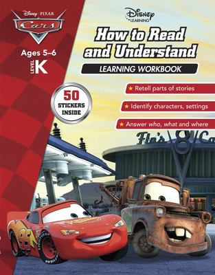 Cars - How to Read and Understand Learning Workbook