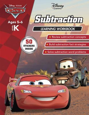 Cars - Subtraction Learning Workbook