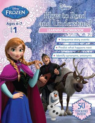Disney Frozen How to Read and Understand Learning Workbook