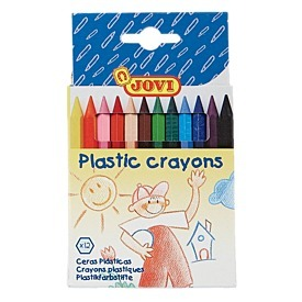 Plastic Crayons 12 Pack