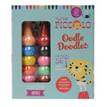 Oodle Doodles Crayon Set with Stickers: Animals
