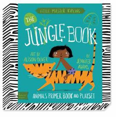 Babylit Jungle Book Playset: Animal Primer Book and Playset