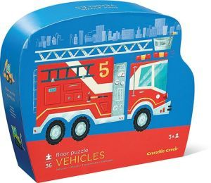 Vehicles Fire Engine Floor Puzzle 36pc