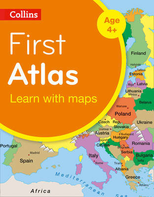 Collins First Atlas: Collins Primary Atlases