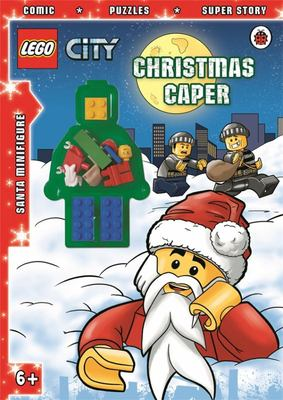 Christmas Caper Activity Book with Minifigure (LEGO City)