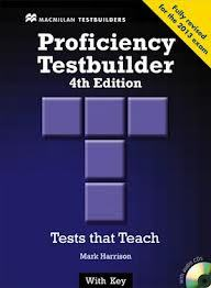 New Proficiency Testbuilder with Key 4th Edition + Audio CD pack