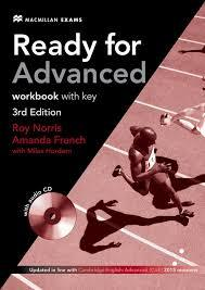 Ready for Advanced Workbook with Keys and CD 3rd edition