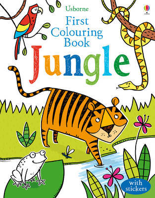 First Jungle Colouring Book