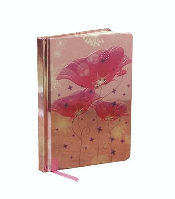 Pink Lilies. (Contemporary Foiled Journal)