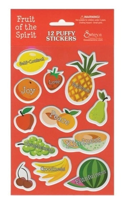 Stickers Puffy Fruit of the Spirit