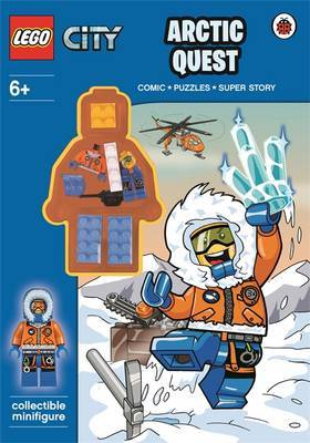 Arctic Quest Activity Book With Minifigure (Lego City)