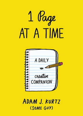 1 Page at a Time - A Daily Creative Companion
