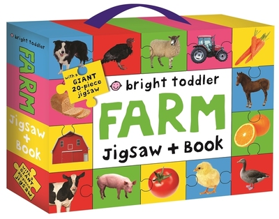 Farm Jigsaw and Book (Bright Toddler)