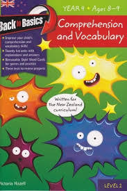 Comprehension & Vocabulary Year 4 (Ages 8-9)