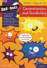 Comprehension & Vocabulary Year 6