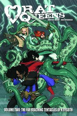 The Far Reaching Tentacles of N'Rygoth (Rat Queens #2)