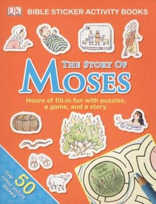 Bible Sticker Activity Moses