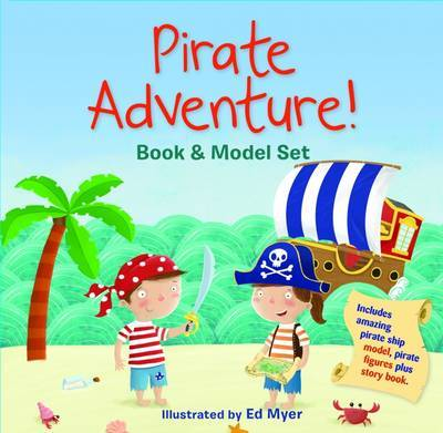 Pirate Adventure! Book and Model Set