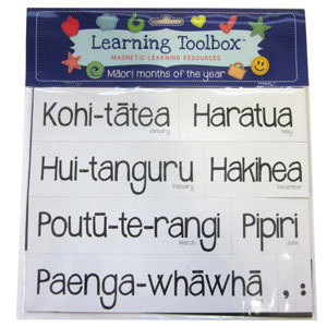 Maori Months of the Year (Magnetic Learning Resources)