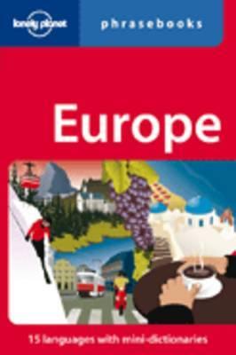 Europe Phrasebook & Dictionary 4