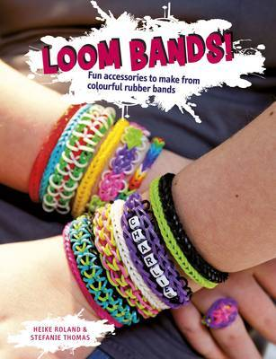 Fun Accessories to Make from Colourful Rubber Bands (Loom Bands!)