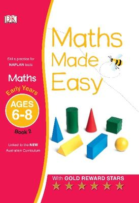 Early Years, Ages 6-8, Book 2 (Maths Made Easy)
