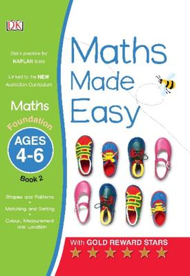 Foundation, Ages 4-6, Book 2 (Maths Made Easy)