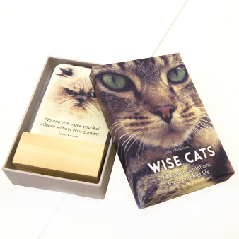 DWC Wise Cats 24 Affirmation Cards