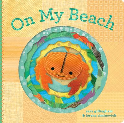 On My Beach (Finger Puppet Book)