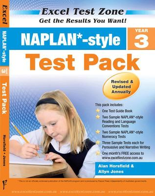 Year 3  NAPLAN*-style Test Pack - Excel Test Zone