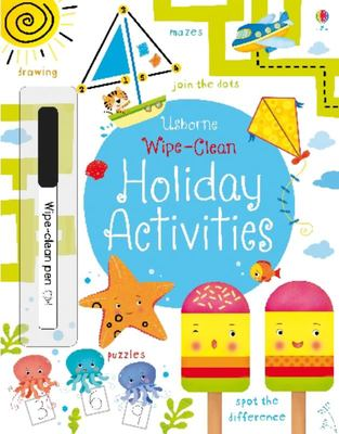 Holiday Activities (Usborne Wipe-Clean)