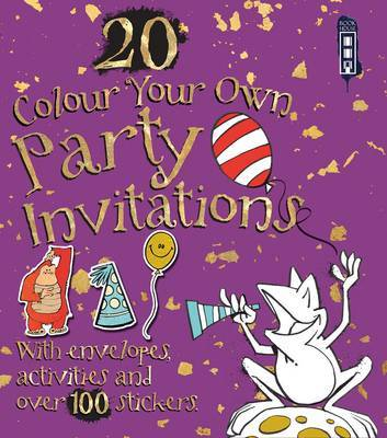 Colour Your Own Party Invitations with Envelopes