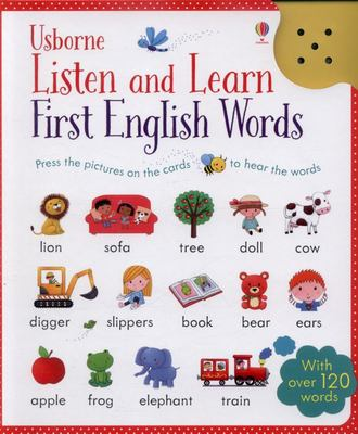 First English Words - Listen and Learn