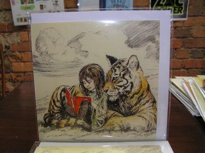 Elise Hurst - Girl and Tiger