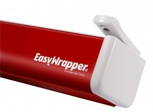 Easywrapper: The Clear Cut Choice RED with cling wrap