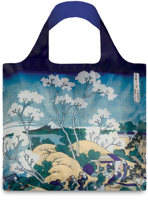 Bag LOQI Shopper Hokusai Fuji