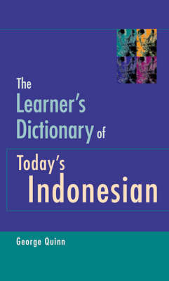 The Learner's Dictionary of Today's Indonesian: English-Indonesian/Indonesian-English