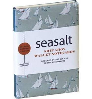Seasalt: Ship Ahoy! Wallet Notecards: 10 Cards & Envelopes (5 Each of 2 Designs) in a Presentation Box