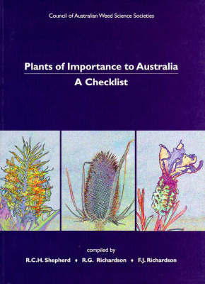 Plants of Importance to Australia: A Checklist