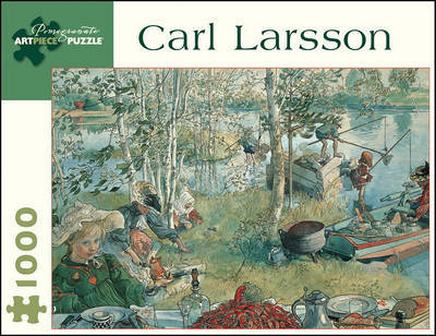 Jigsaw Puzzle Carl Larsson Crayfishing 1000 Pieces