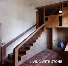 Large living with stone