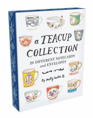 A Teacup Collection Notes: 20 Different Notecards and Envelopes