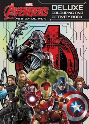 Deluxe Colouring and Activity Book (Marvel Avengers: Age of Ultron)