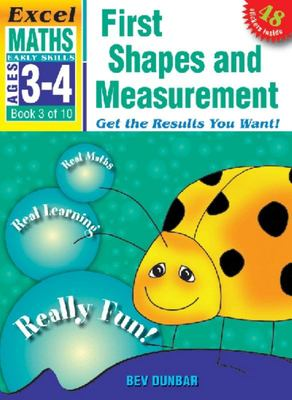 First Shapes and Measurement: Excel Maths Early Skills Ages 3-4: Book 3 of 10